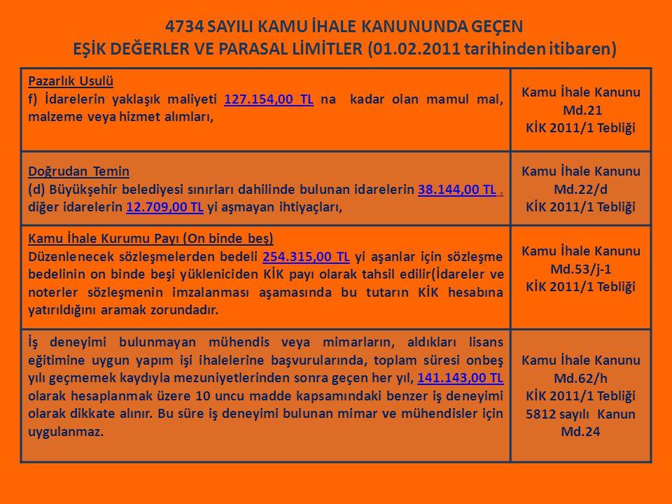 Kamu İhale Kanunu Md.53/j-1