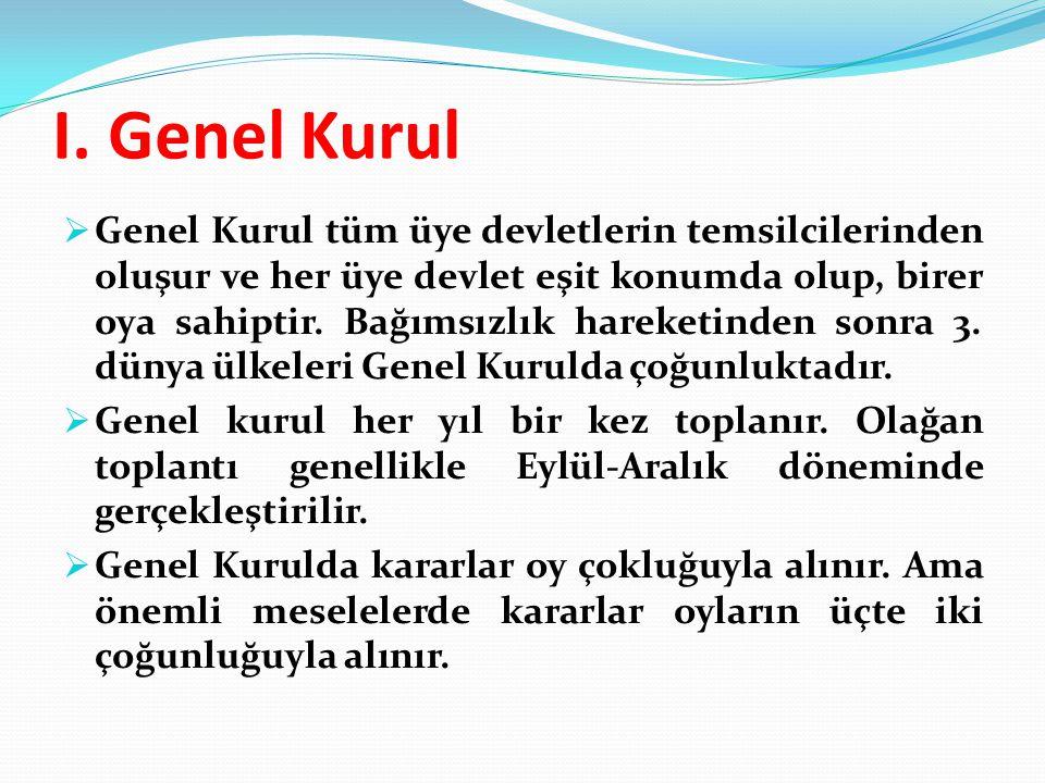 I. Genel Kurul