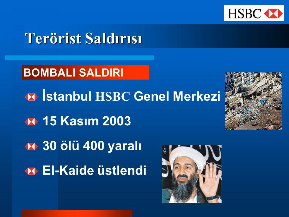 Terörist Saldırısı İstanbul HSBC Genel Merkezi 15 Kasım 2003