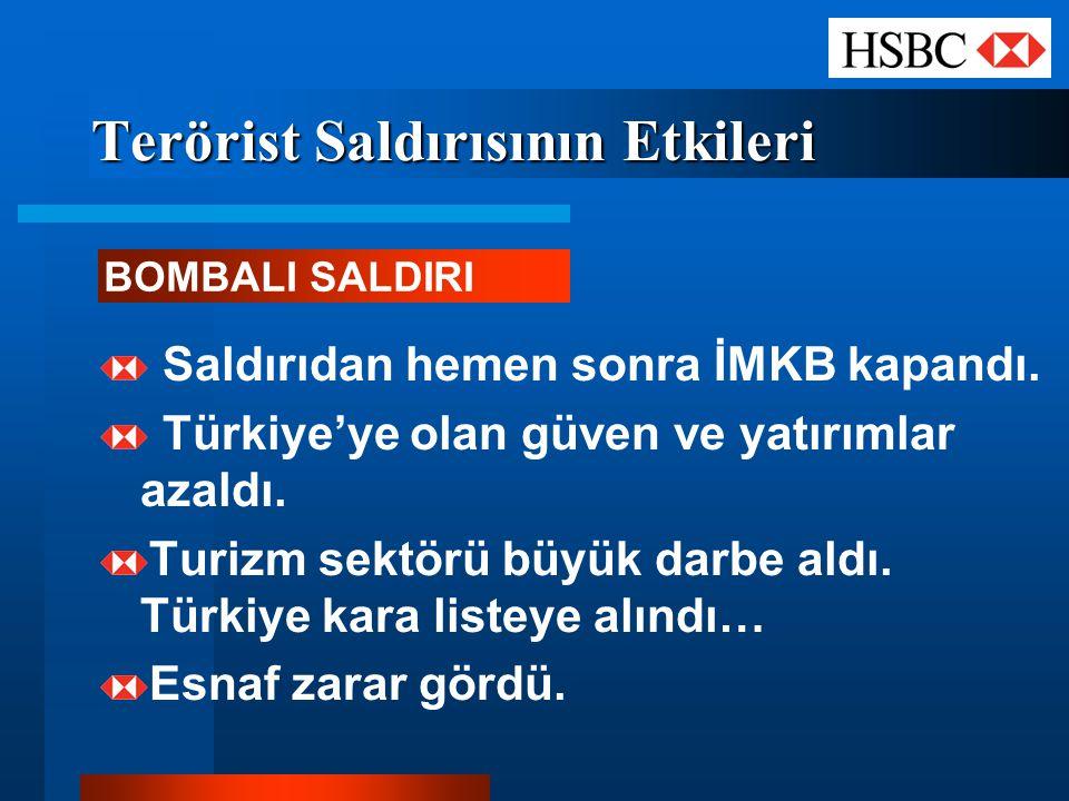 Terörist Saldırısının Etkileri