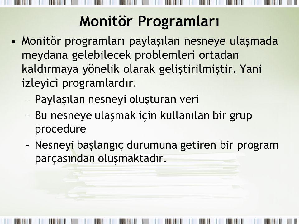 Monitör Programları