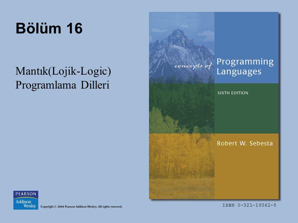 Mantık(Lojik-Logic) Programlama Dilleri