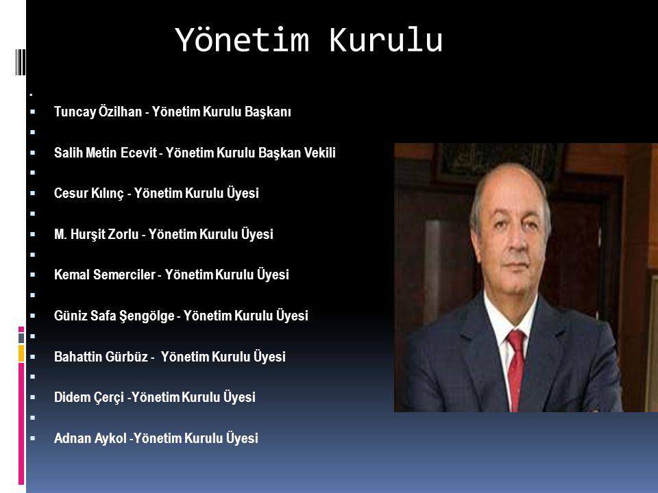 Yönetim Kurulu Tuncay Özilhan - Yönetim Kurulu Başkanı