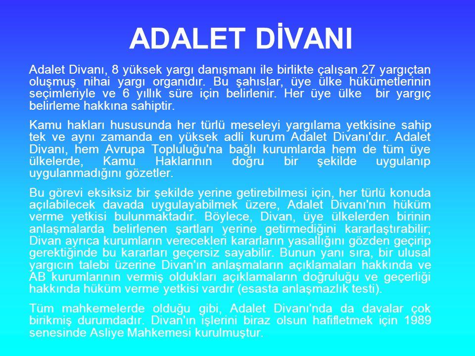 ADALET DİVANI