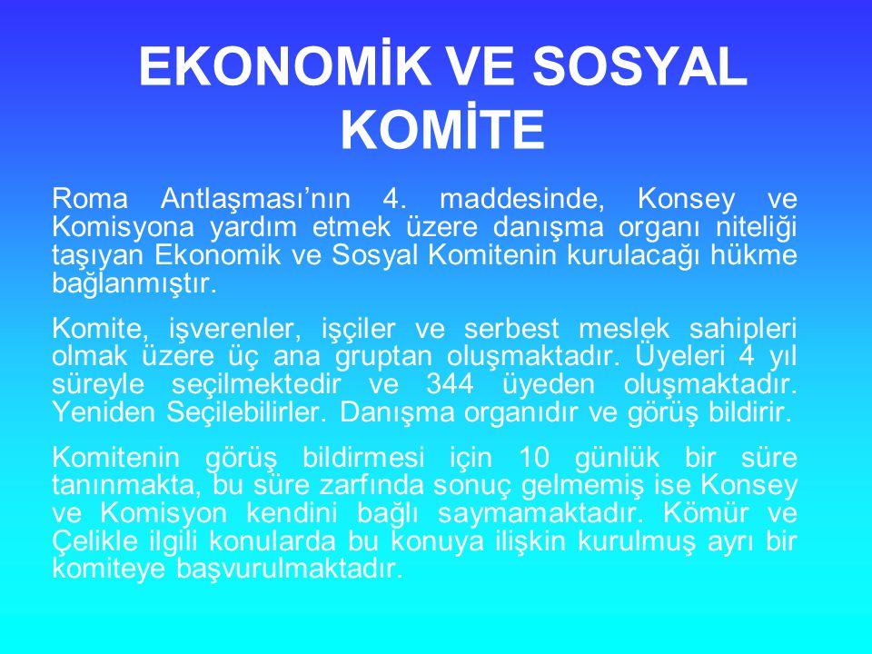 EKONOMİK VE SOSYAL KOMİTE