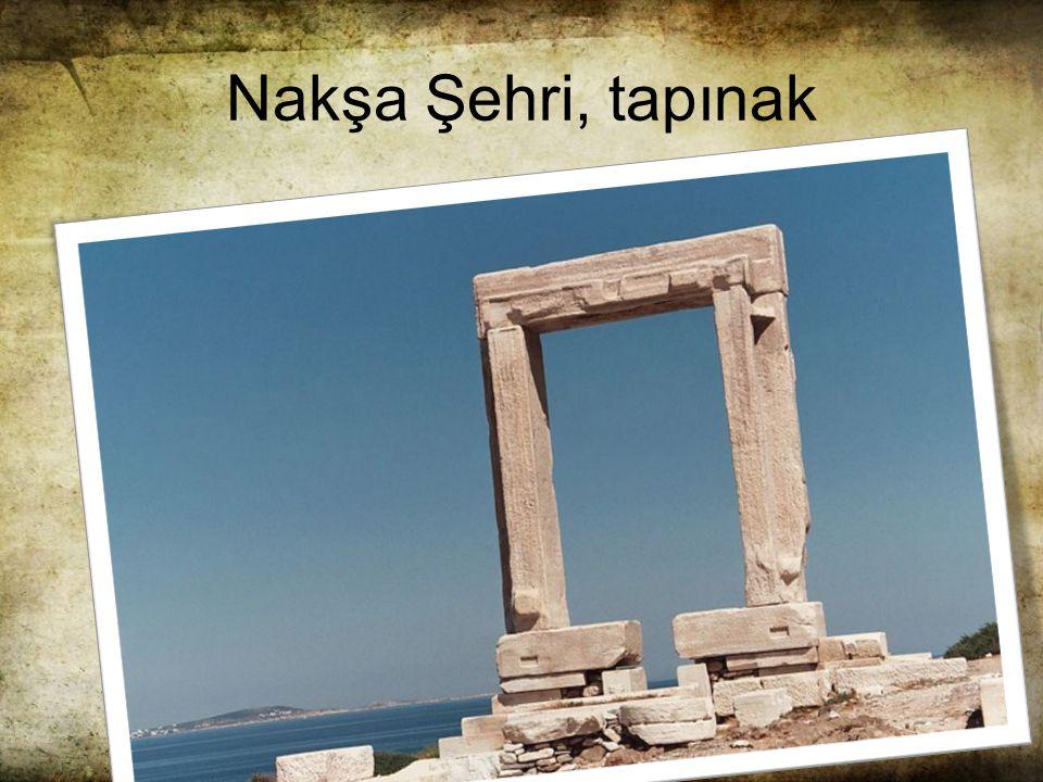Nakşa Şehri, tapınak