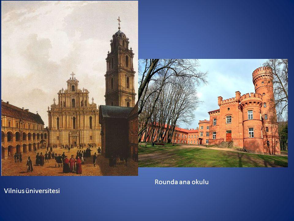 Rounda ana okulu Vilnius üniversitesi