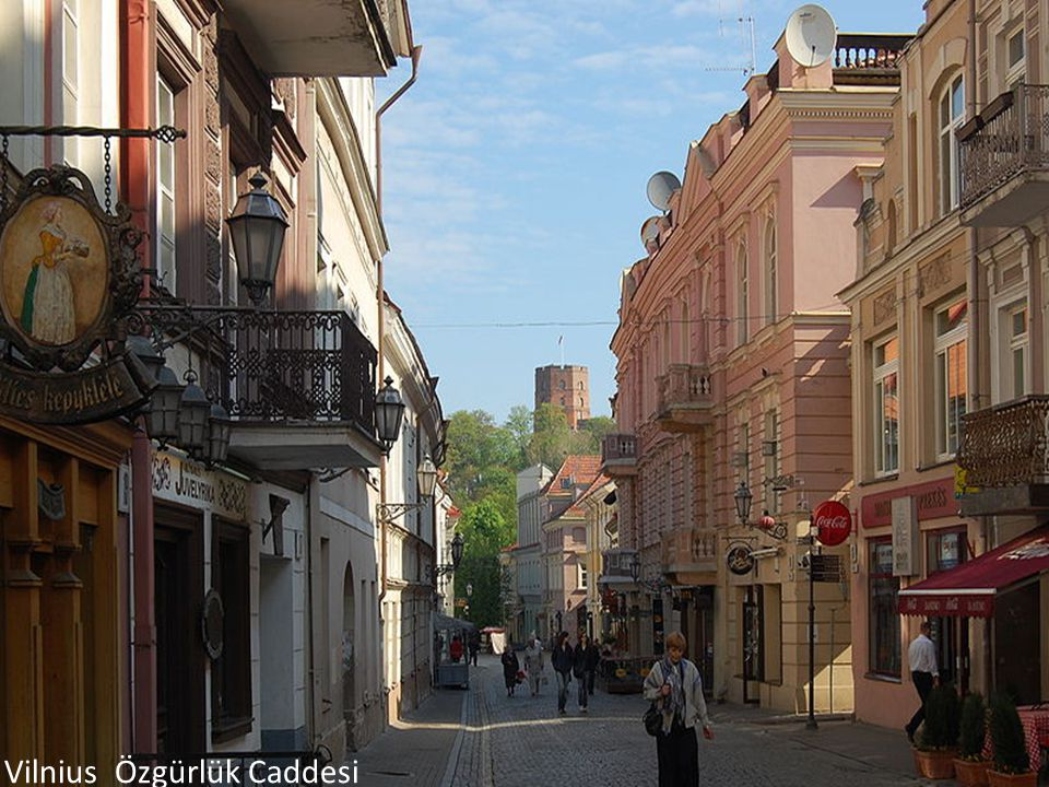 Vilnius Özgürlük Caddesi
