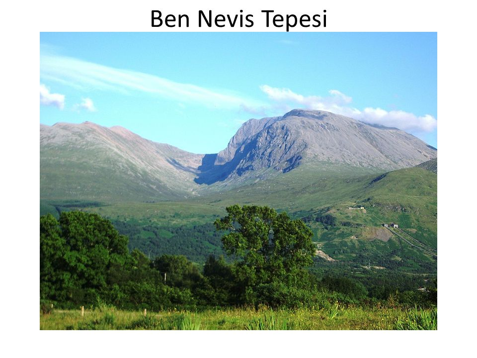 Ben Nevis Tepesi