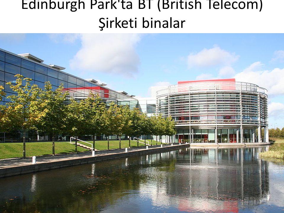 Edinburgh Park ta BT (British Telecom) Şirketi binalar