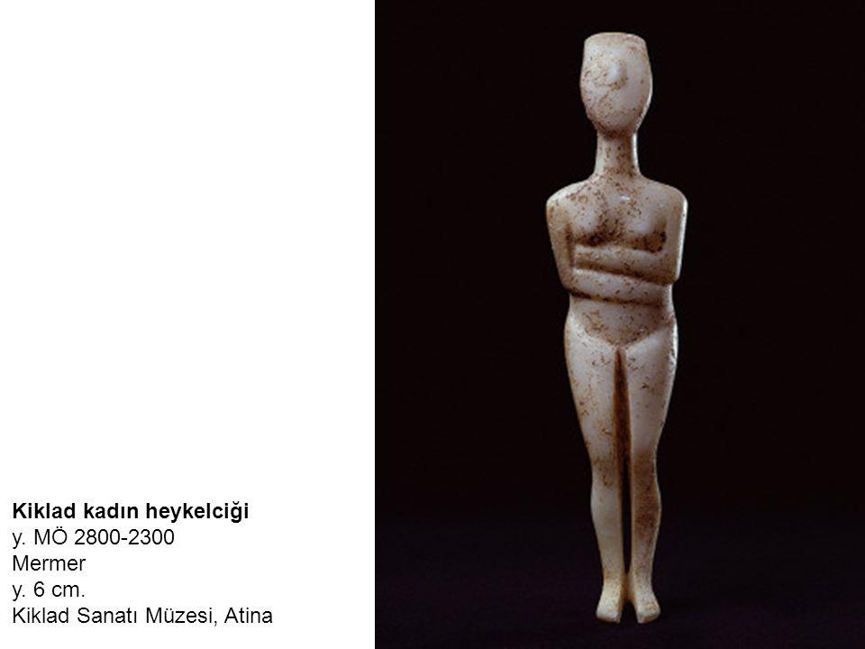 Kiklad kadın heykelciği