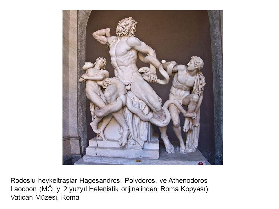 Rodoslu heykeltraşlar Hagesandros, Polydoros, ve Athenodoros