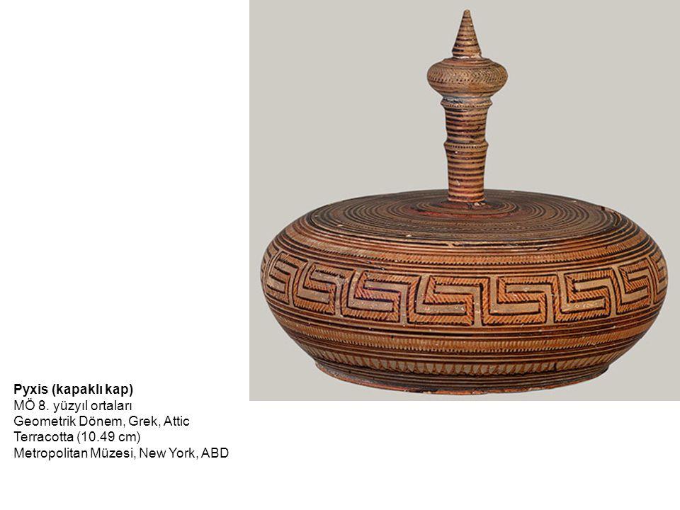 Geometrik Dönem, Grek, Attic Terracotta (10.49 cm)