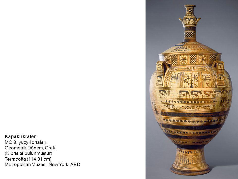 (Kıbrıs'ta bulunmuştur) Terracotta (114.91 cm)