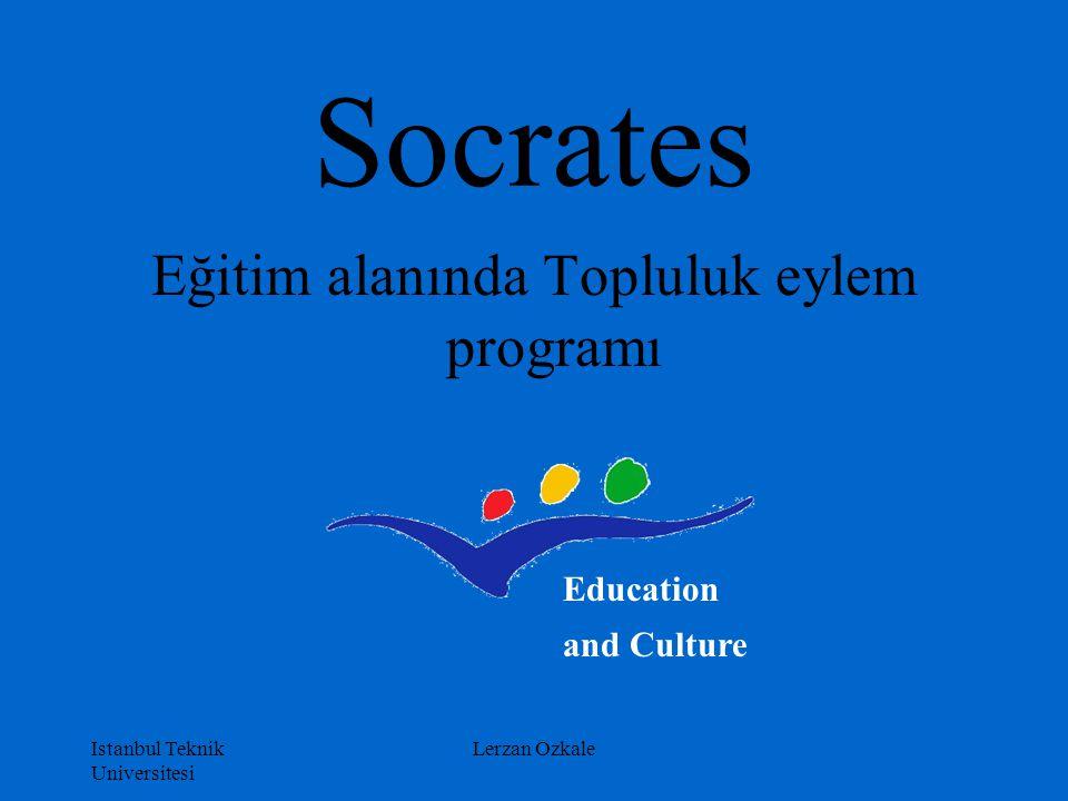 Eğitim alanında Topluluk eylem programı