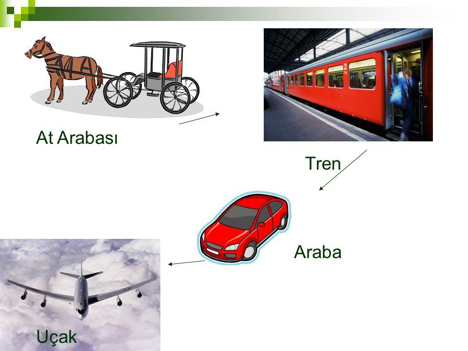 At Arabası Tren Araba Uçak