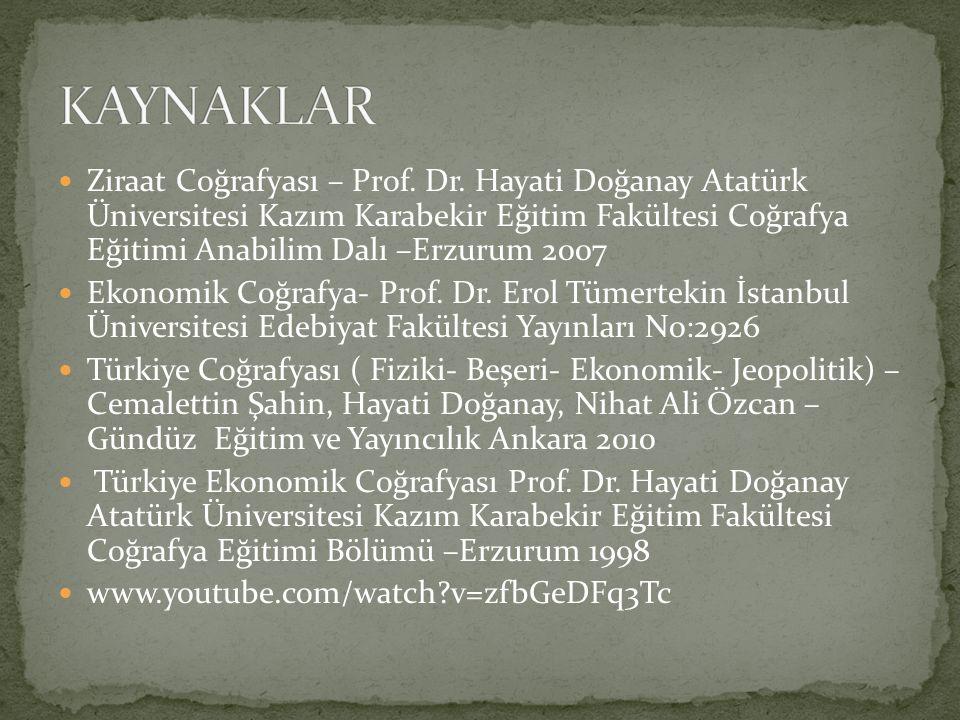 KAYNAKLAR