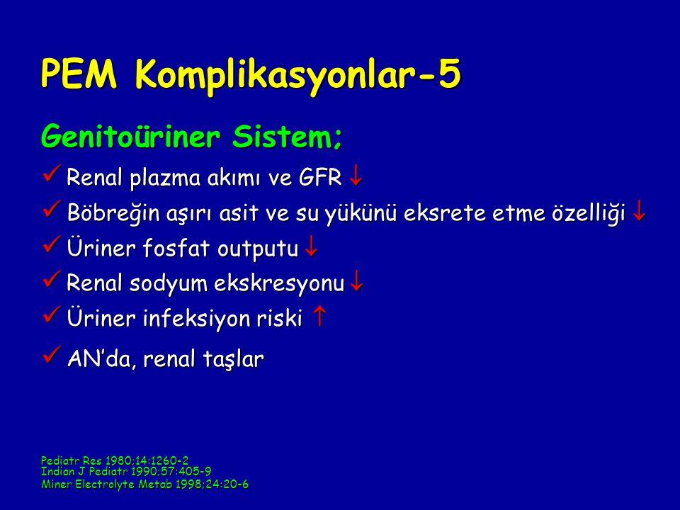 PEM Komplikasyonlar-5 Genitoüriner Sistem; Renal plazma akımı ve GFR 