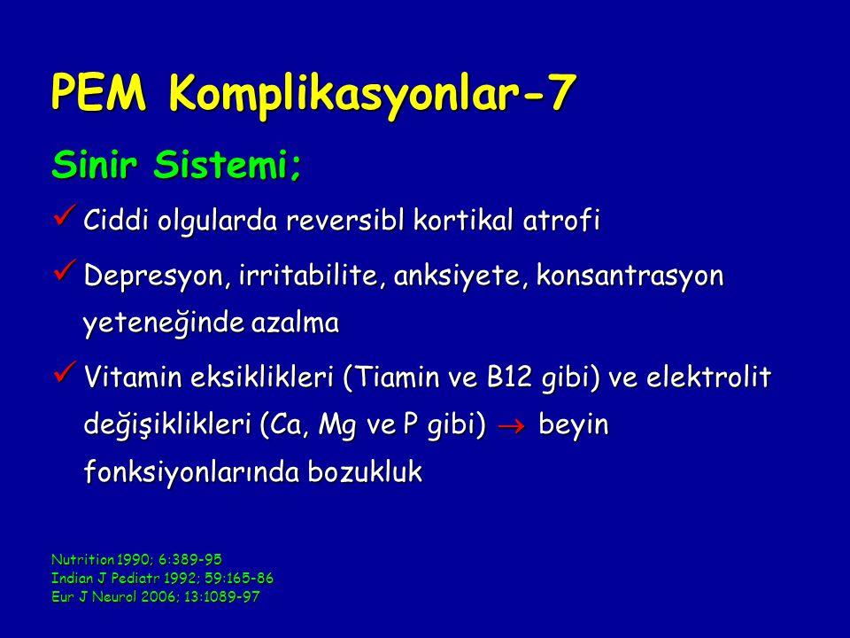 PEM Komplikasyonlar-7 Sinir Sistemi;