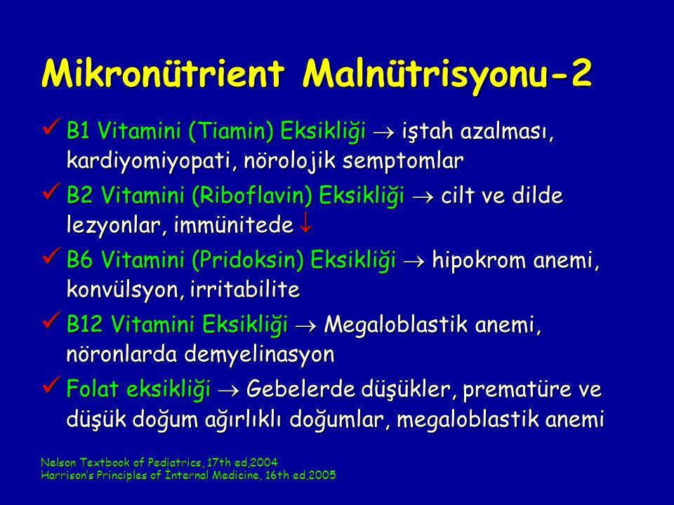 Mikronütrient Malnütrisyonu-2