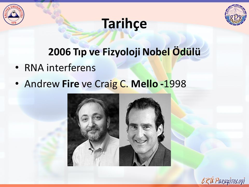 2006 Tıp ve Fizyoloji Nobel Ödülü