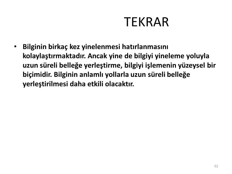 TEKRAR