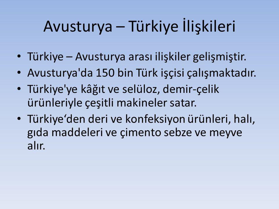 Avusturya – Türkiye İlişkileri