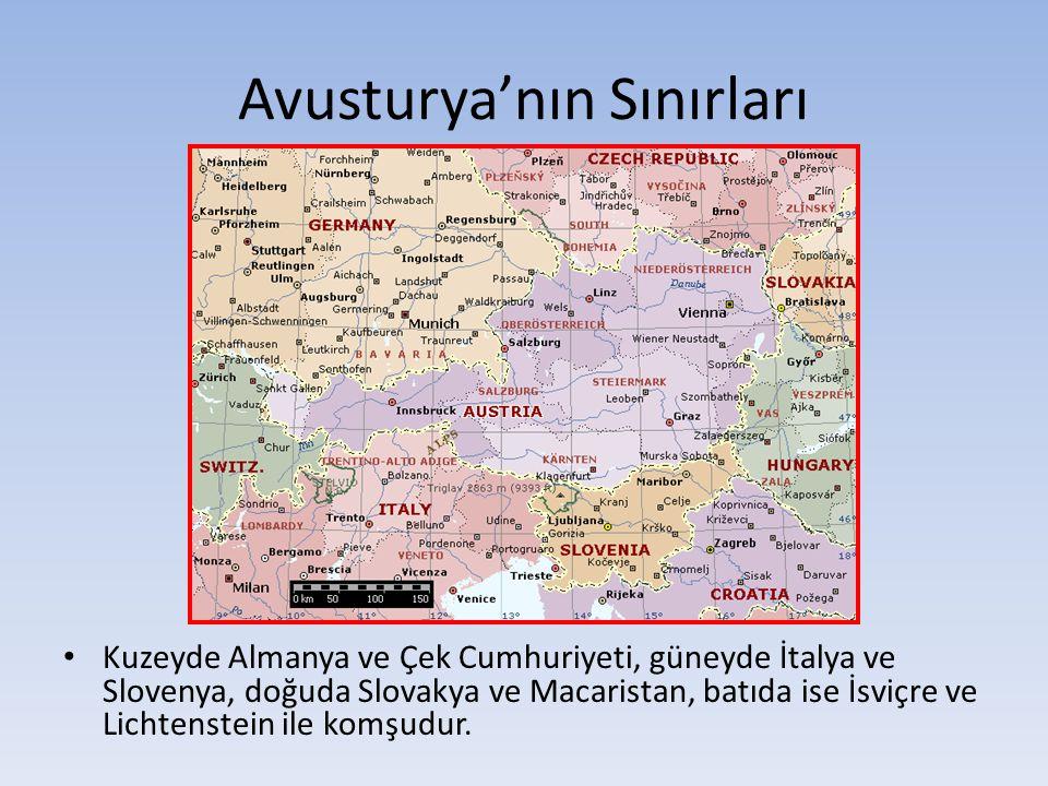 Avusturya'nın Sınırları