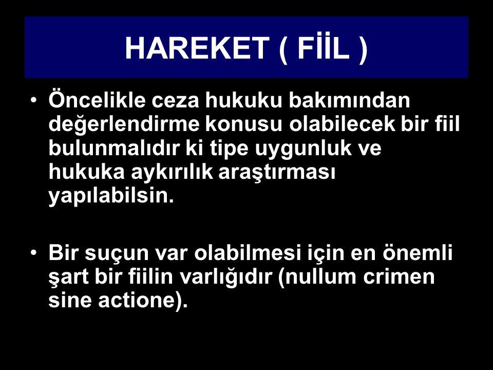 HAREKET ( FİİL )