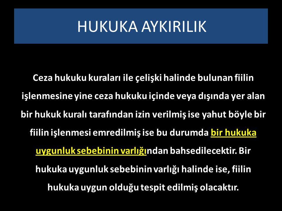 HUKUKA AYKIRILIK