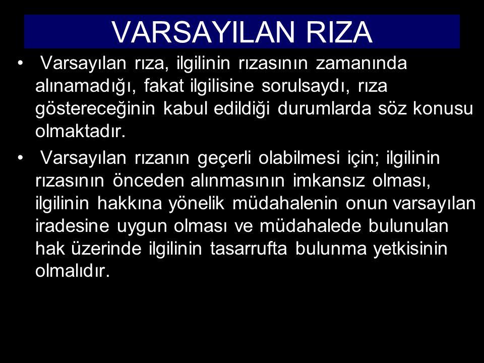 VARSAYILAN RIZA