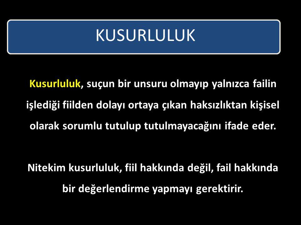 KUSURLULUK