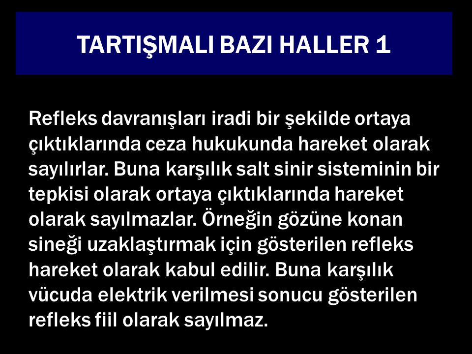 TARTIŞMALI BAZI HALLER 1