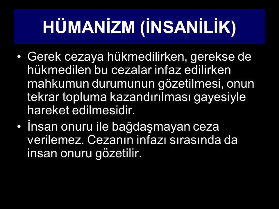 HÜMANİZM (İNSANİLİK)