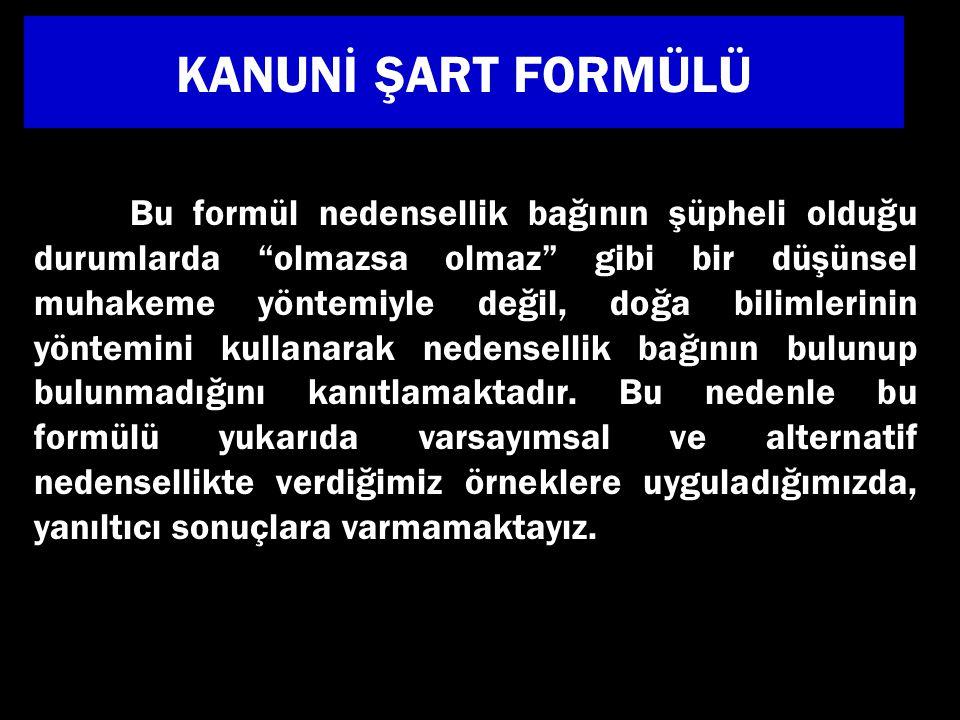 KANUNİ ŞART FORMÜLÜ
