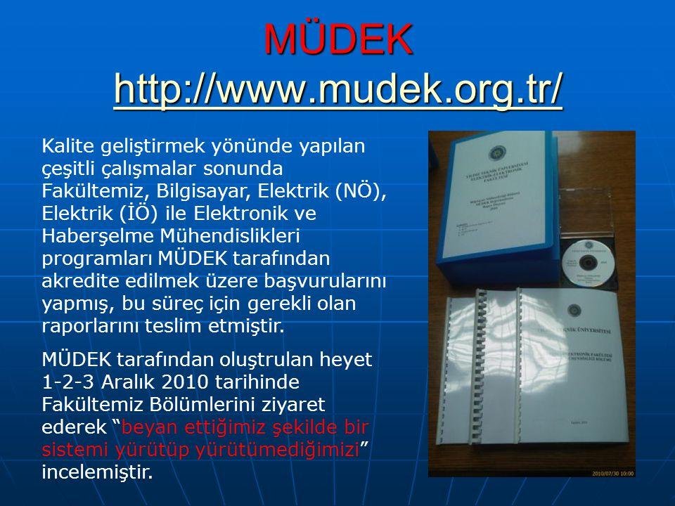 MÜDEK http://www.mudek.org.tr/