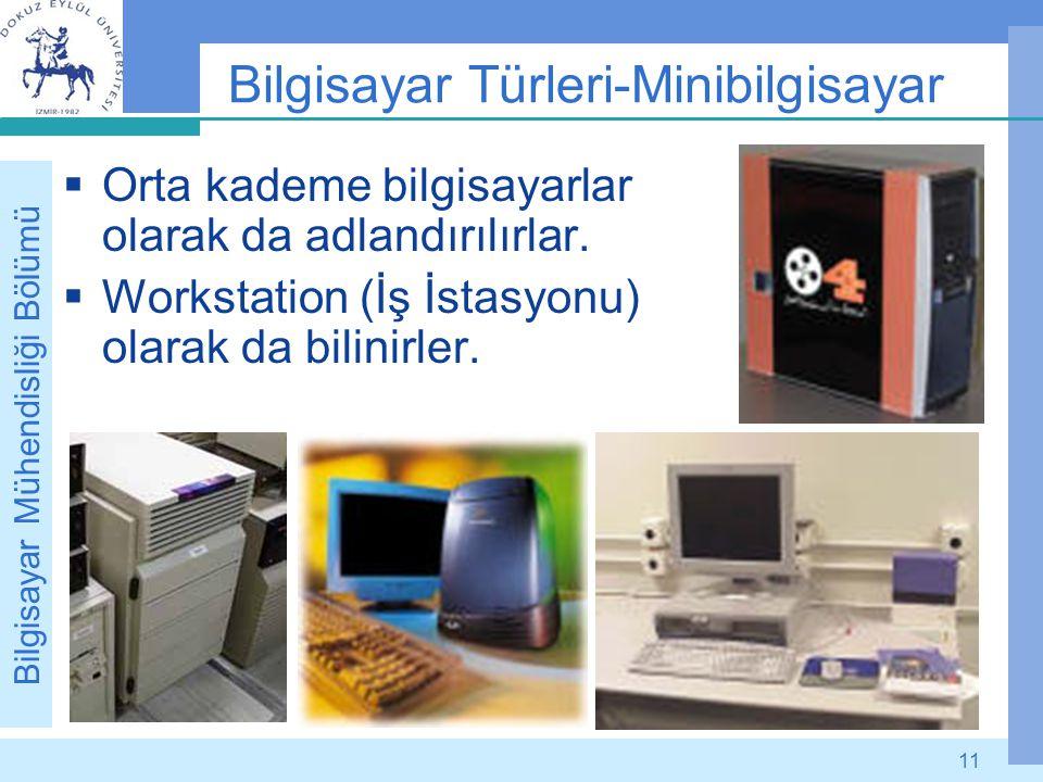 Bilgisayar Türleri-Minibilgisayar