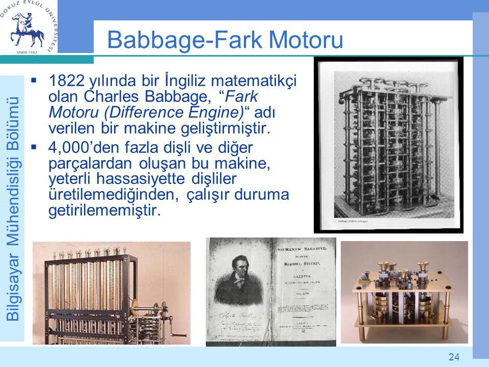 Babbage-Fark Motoru