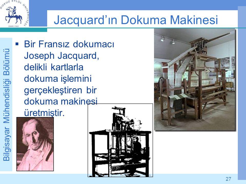 Jacquard'ın Dokuma Makinesi