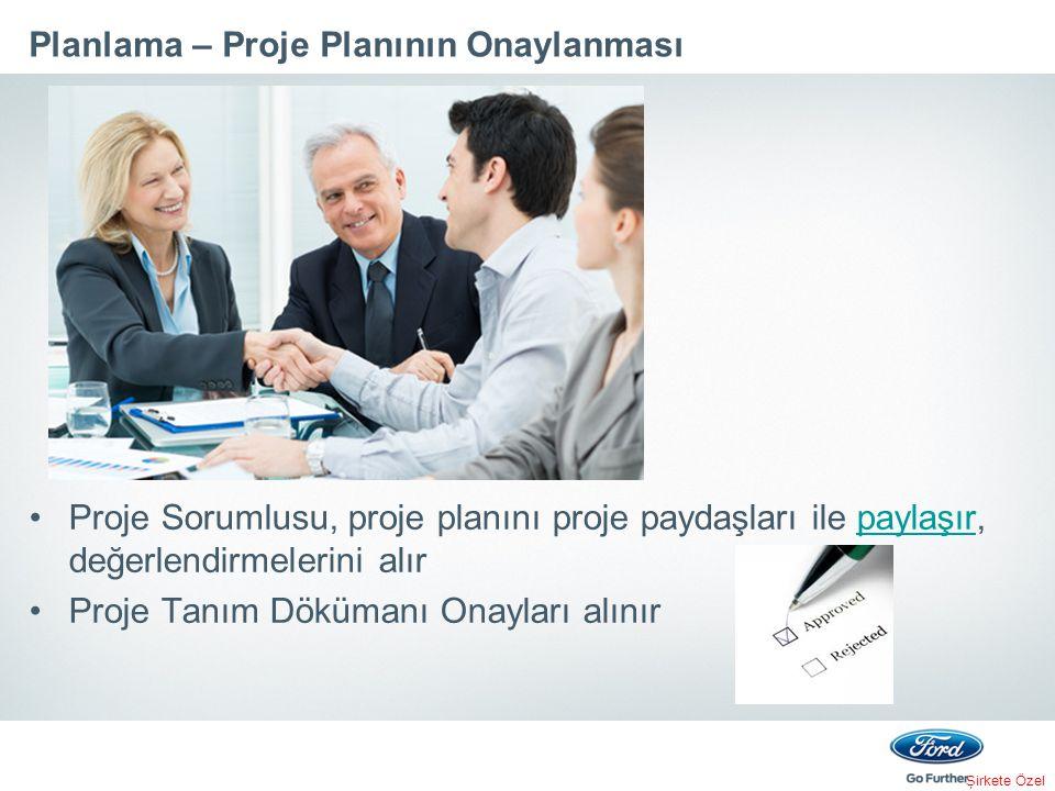 Planlama – Proje Planının Onaylanması