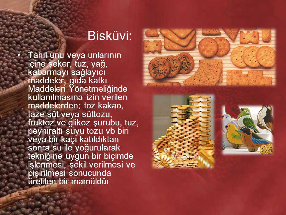 Bisküvi: