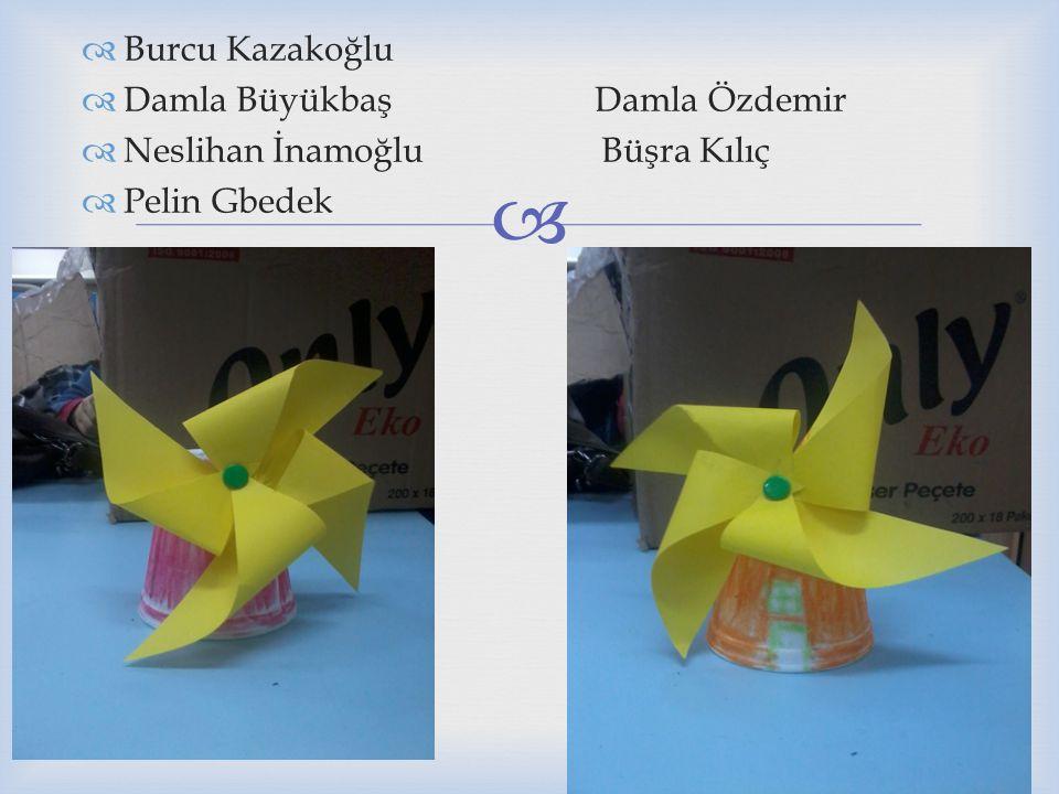 Burcu Kazakoğlu Damla Büyükbaş Damla Özdemir. Neslihan İnamoğlu Büşra Kılıç.