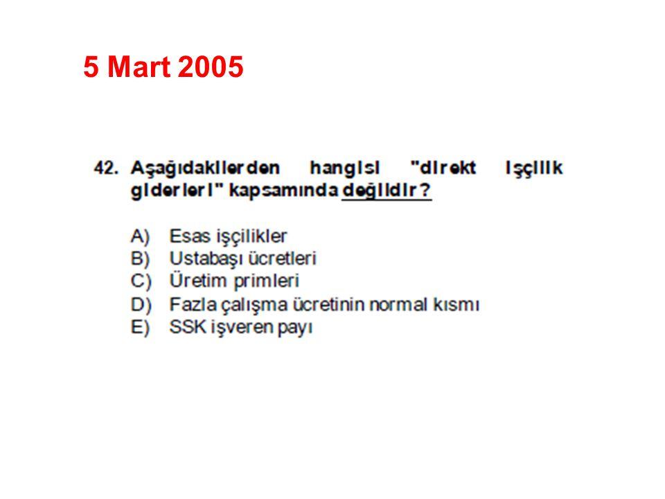 5 Mart 2005