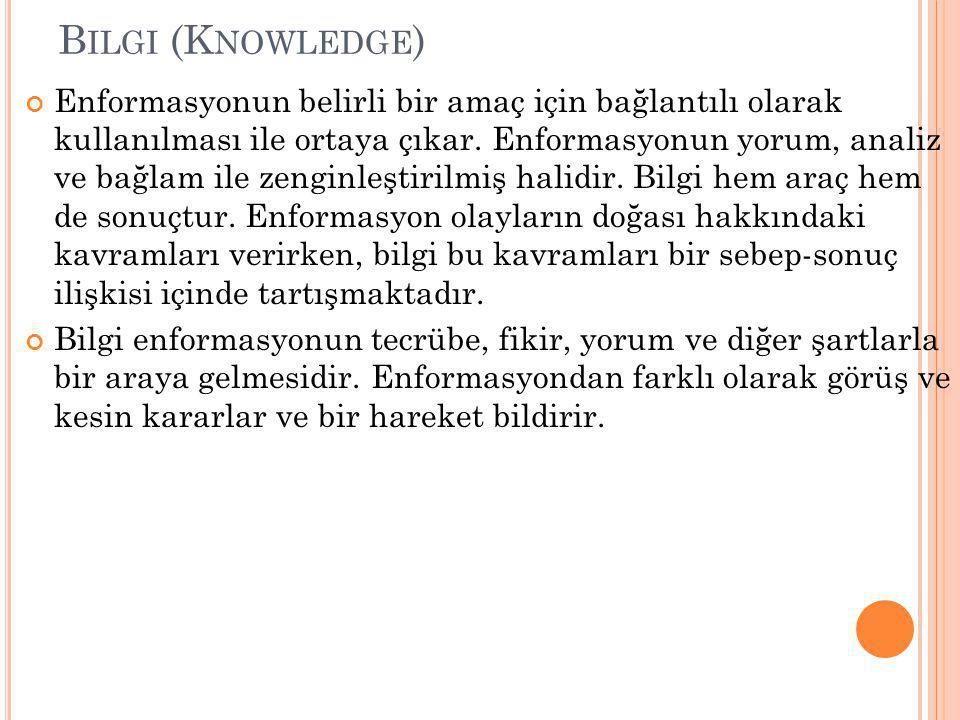 Bilgi (Knowledge)