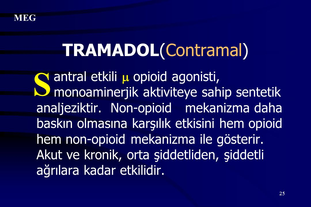 S TRAMADOL(Contramal)