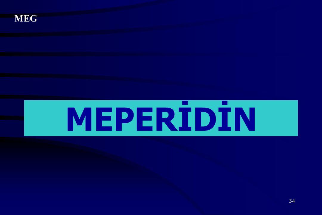 MEG MEPERİDİN