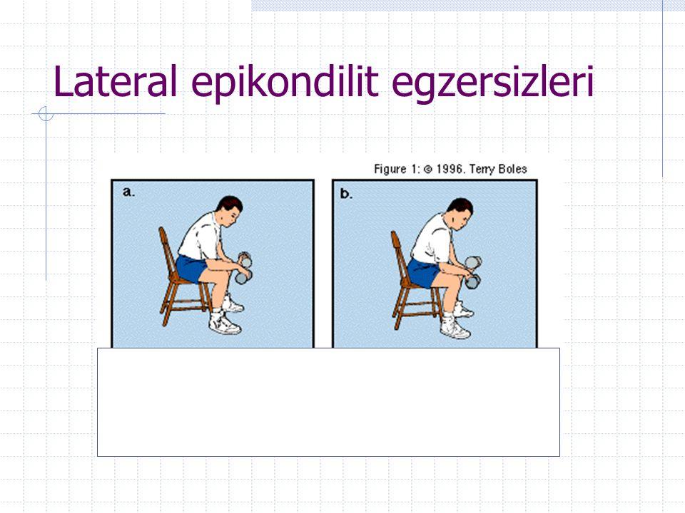 Lateral epikondilit egzersizleri