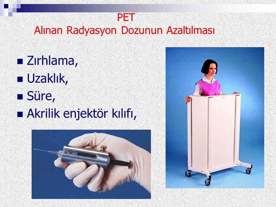 PET Alınan Radyasyon Dozunun Azaltılması
