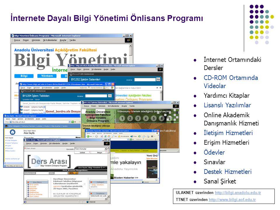 İnternete Dayalı Bilgi Yönetimi Önlisans Programı