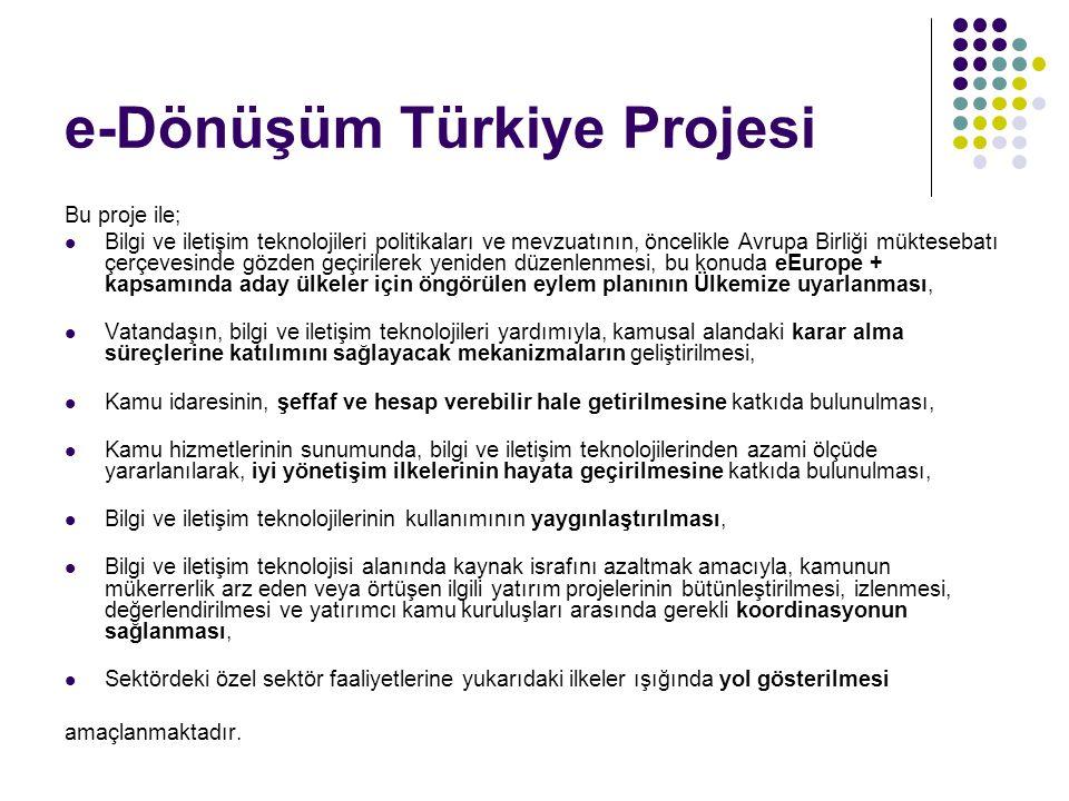 e-Dönüşüm Türkiye Projesi